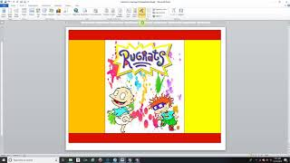 How to: create chip bags in Microsoft Word