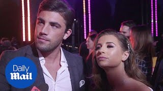 Dani and beau Jack talk post-Love Island life at ITV gala