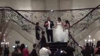 Bridal Party Entrance - Dennis & Siu's Samoan Wedding