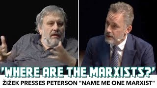 """Zizek Presses Peterson: """"Where Are The Marxists!?"""""""