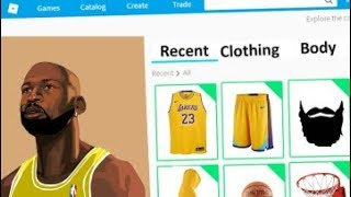 MAKING LEBRON JAMES A ROBLOX ACCOUNT!