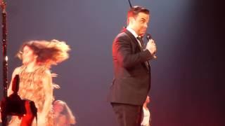 Robbie Williams - Sensational (new song!) LIVE @ Budapest 25.04.2014