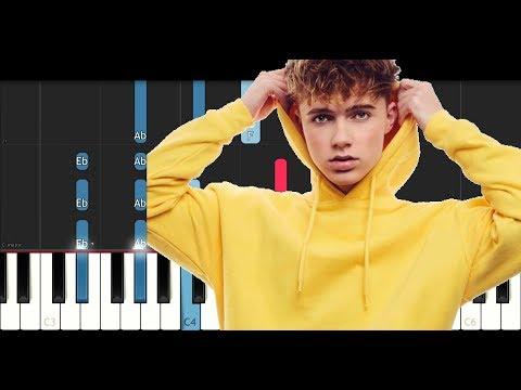 Hrvy - Personal (Piano Tutorial)