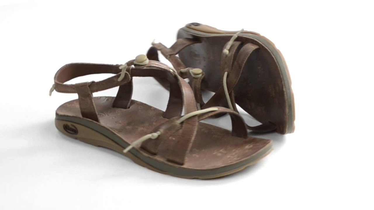 f1afc59f5935 Chaco Local Ecotread Sport Sandals - Leather (For Women) - YouTube