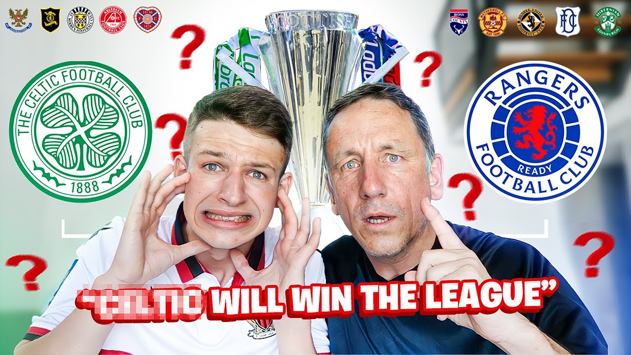 CELTIC or RANGERS TO WIN THE LEAGUE?!   OUR SPFL PREDICTIONS 21/22