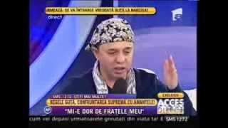 Repeat youtube video Nicolae Guta, regele manelelor, îşi deschide sufletul!