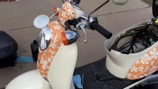 How replace the spark plug on a Honda metropolitan
