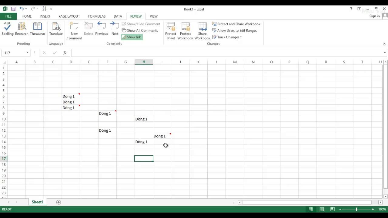 Cách thêm ghi chú Comment và xóa ghi chú Comment trong Excel – Mẹo Vặt