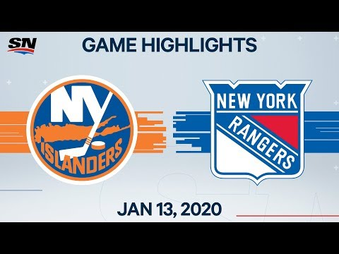 NHL Highlights | Islanders Vs. Rangers – Jan. 13, 2020