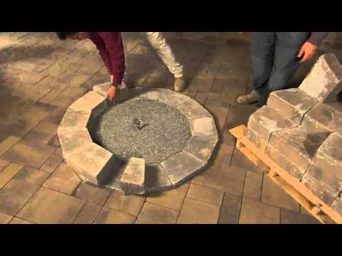 cambridge gas fire pit youtube