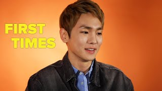 Key From SHINee Tells Us About His First Times Video