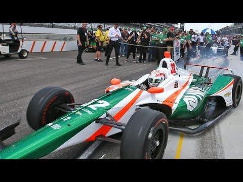 El equipo Juncos Racing eliminó a Alonso de la Indy 500