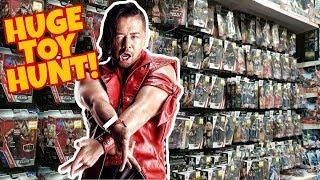 🚨 HUGE TOY HUNT!!! 🚨 ELITE 57 FUN WITH SHINSUKE NAKAMURA!! WWE Mattel Wrestling Action Figures #91