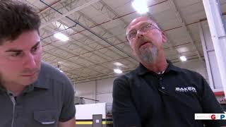Sen. MacDonald visits Baker Industries