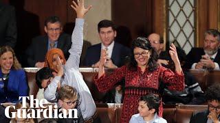 Tears, hugs and dabbing as new Congress sworn in