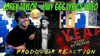 Corey Taylor   HWY 666 Official Lyric Video - Producer Reaction