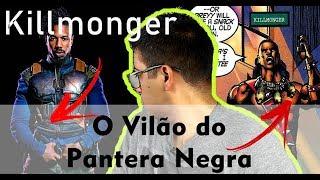 Vilão do PANTERA NEGRA!!!