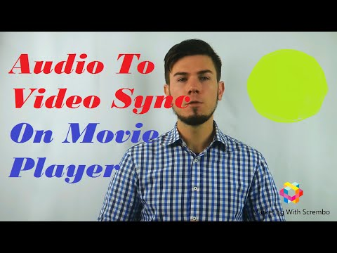 How To Sync Audio With Video On Windows Movie Maker - HD