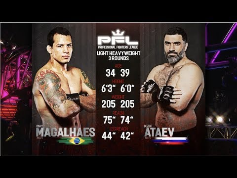 PFL Full Fight Friday: Vinny Magalhaes vs Bozigit Ataev