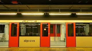 【地下鉄】オランダ🇳🇱アムステルダムのメトロ / Metro in Amsterdam Netherlands【世界の鉄道シリーズ】