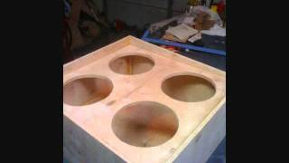 Diy Make Custom 4x12 Guitar Speaker Cabinet Build Celestions
