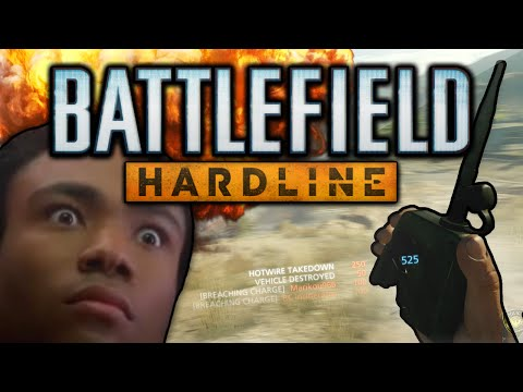Battlefield Hardline Funny Moments! (MULTIKILLS, C4 Traps, and the Worst Drivers Ever)