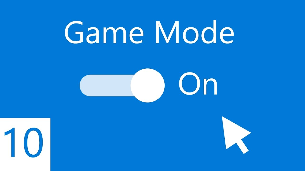 how to turn on game mode on windows 10 creators update youtube