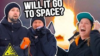 Launching Stuff With EXPLOSIVES! - How High Challenge With SOX
