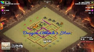 clash of clans movie comedy attacks strategy | coc commercial animation new update | th 8 dragon V#2