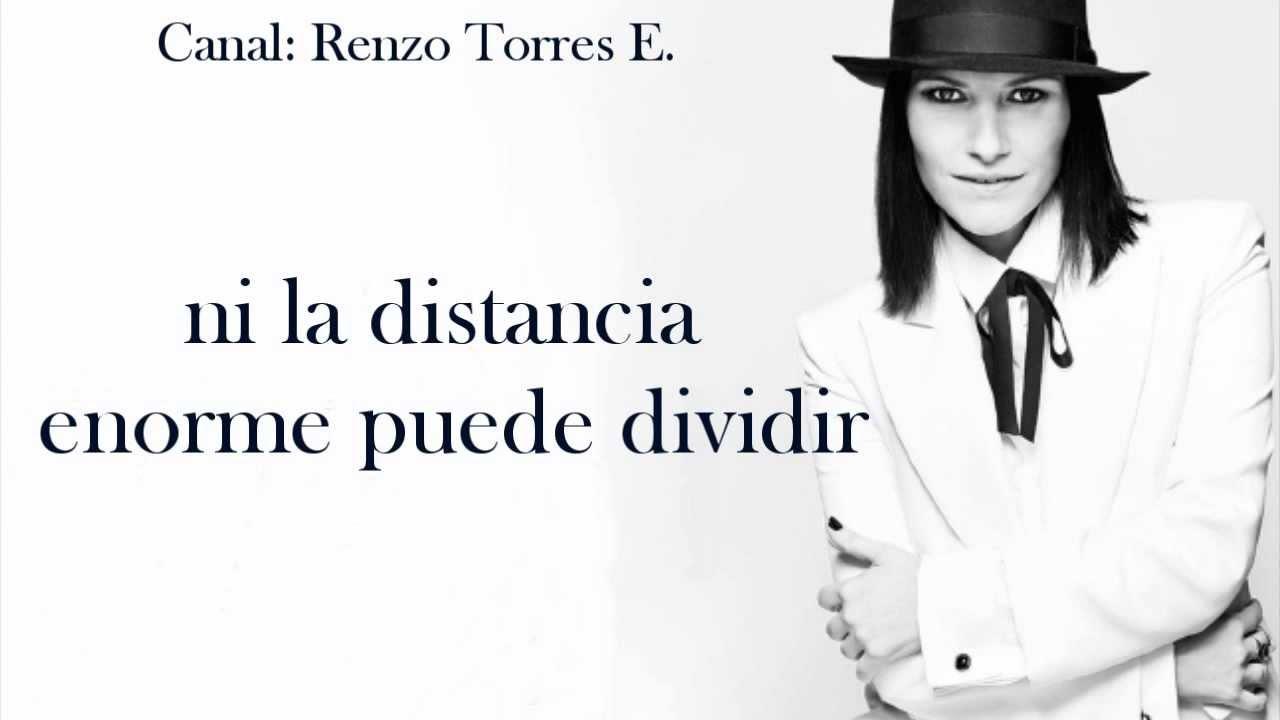 Laura Pausini La Soledad Con Ennio Morricone Letra Youtube