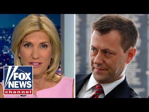 Ingraham: Trump-hating FBI investigator 'Strzok out'