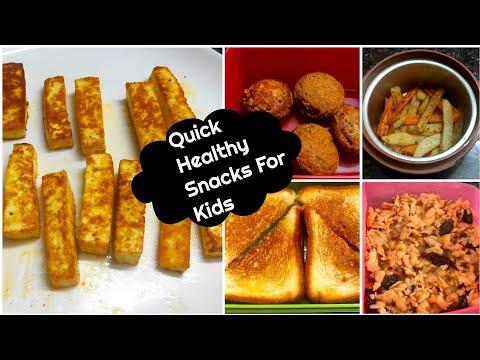   5 Quick Healthy Snacks For Kids Snacks Box   Easy Snacks For Kids   Series -1 
