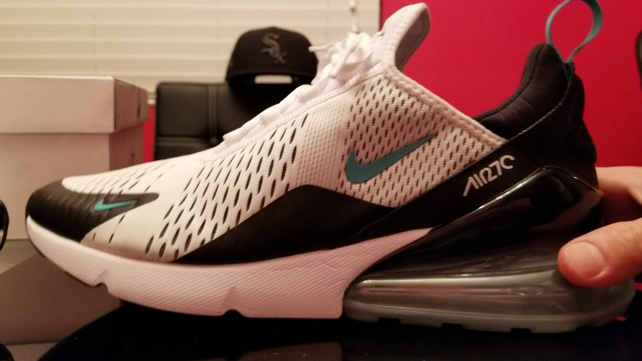 buy popular f1a09 20c5c Nike Air Max 270 Dusty Cactus review on feet