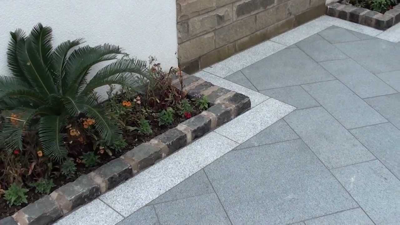 Marshalls Eclipse Granite Patio In Manchester Youtube