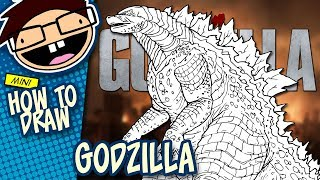 How to Draw GODZILLA (Godzilla [2014] Movie) | Narrated Easy Step-by-Step Tutorial