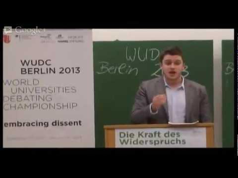 WUDC Berlin 2013 Partial Double Octofinals