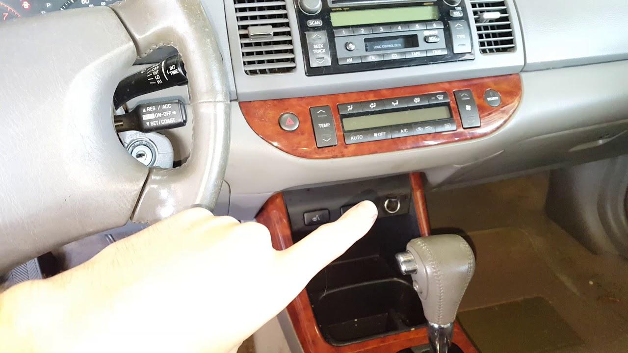 toyota camry cigarette lighter power outlet fuse 2002. Black Bedroom Furniture Sets. Home Design Ideas