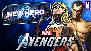 Marvel's Avengers Game - NEW Characters Teased & Classic Skin Revealed!!
