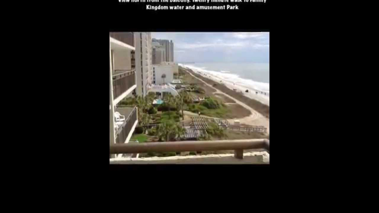 Myrtle Beach ocean front 2 bedroom condo rental YouTube