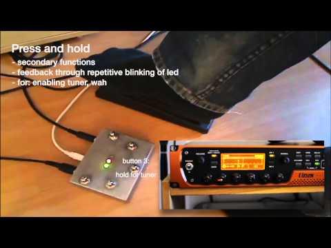 Arduino Based MIDI Controller