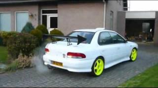 First start after rebuild - Subaru Impreza Turbo