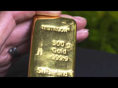 500 gram Gold Bullion Bar