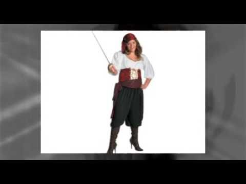 Plus-Size Pirate Costumes For Women