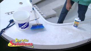How to Wash a Boat with Non Skid Deck Cleaner