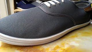 Обзор обуви! Мокасины серого цвета