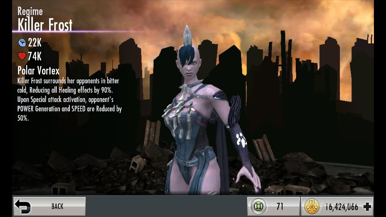 Injustice Mobile on Android (glitch): How to reset the ...