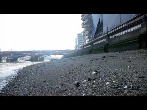 Mudlarking down the Thames