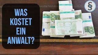 Was kostet ein Anwalt? Anwaltskosten - Gebühren - Geld | Herr Anwalt