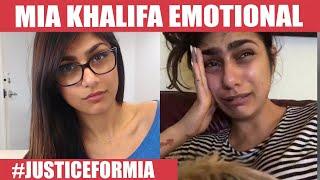 இனி வர எந்த பெண்ணும் பார்த்திடக் கூடாது – Mia Khalifa Emotional