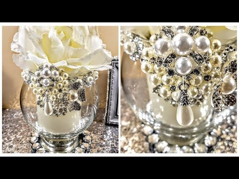 DIY| Easy Quick Amazing Dollar Tree Luxurious Centerpiece| Home Decor